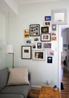 nice picture wall