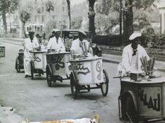 vintage old ice cream cart :-)