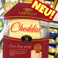 CASTELLO CHEDDAR neu, foodnews, foodnewsgermany, foodnewsgermany 2016, lebensmittelneuheiten, food, foodblogger, germanfood, new, supermarkt www.foodnewsgermany.de
