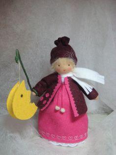 Jahreszeitentisch - 3 Laternenkinder Waldorf *****RESERVIERT**** - ein Designerstück von Blumenkinder-Unikate bei DaWanda