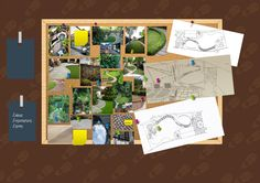 Idea, Inspirations and Items for this family garden design in West London #london #ealing #family
