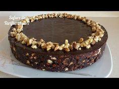 Pratik Pişmeyen Çikolatalı Pasta - Sütsüz Kolay Bisküvili Mozaik Pasta Tarifi - YouTube