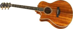Taylor K26ce Left-Handed Grand Symphony Acoustic-Electric Guitar Natural