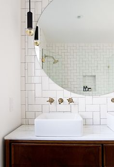 Sarah Sherman Samuel of Smitten Studio bathroom remodel