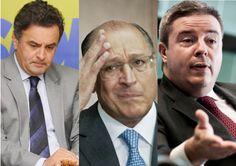 aecio_alckmin_e_anastasia76330  Para mídia, doação de empreiteira ao PSDB é legal, mas ao PT é propina