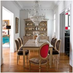 Absolutely stunning   leopard dining room chairs chandelier _ glitterandpearls.com