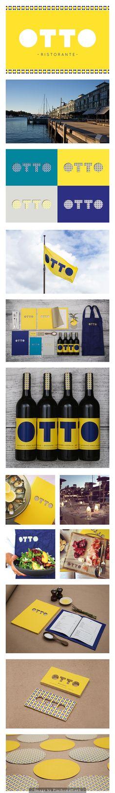 Otto Restaurant branding #design #logo #branding