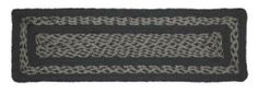 """Gunmetal Jute Stair Tread Rectanglar 8.5x27"""" by Victorian Heart. $5.95. All cloth items in our collections are 100% preshrunk cotton. All braided items (like rugs, baskets, etc.) are 100% jute. Extensive line of matching items and accessories available! (Search by Collection name). Product measurements and additional details listed in title and/or Product Description below.. See Product Description below for more details!. High end quality and workmanship!. 100% Jute"""