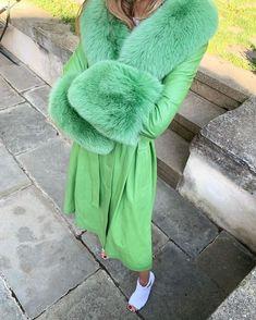 Grunge Fashion, Catwalk, Fur Coat, Street Style, Winter, Grunge Style, Leather, Jackets, Vintage