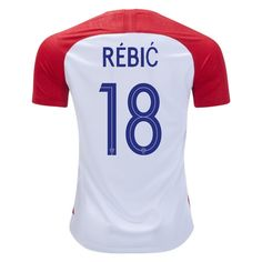 22887cbdb92 Ante Rebic 18 Croatia 2018 World Cup Home Jersey Soccer Jerseys, Fifa World  Cup,