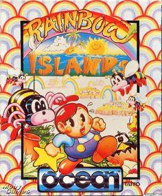 Rainbow Islands (1990) Amiga cover art - MobyGames