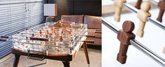 Teckell foosball table available from uber-interiors.com