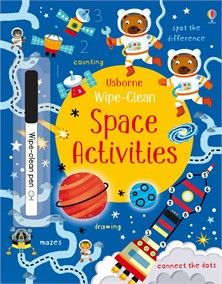 """""""Wipe-clean space activities"""" at Usborne Children's Books Jungle Activities, Pirate Activities, Dinosaur Activities, Book Activities, Activity Books, Travel Activities, Travel Toys For Toddlers, Toddler Travel, Clean Book"""