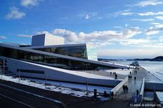 Oslo Opera House, Norway, Things To Do, Landscape, Building, Travel, Home, Europe, Trendy Tree
