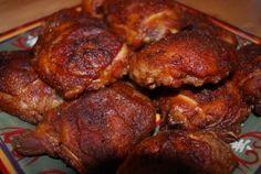 Smoked chicken!