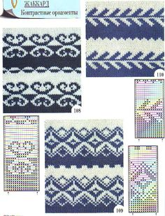 """Photo from album """"Schemes for Toyota"""" on – knitting charts Knitting Machine Patterns, Fair Isle Knitting Patterns, Knitting Charts, Loom Knitting, Knitting Socks, Knitting Designs, Knitting Stitches, Knit Patterns, Knitting Projects"""