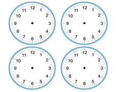 These are 4 blank analog clocks with multi-purpose. Math instruction, math centers, or for time displays for your daily schedule on the wall! Blank Clock, Schedule Printable, Classroom Setup, Math Centers, Classroom Management, Clocks, Images, Purpose, Teacher