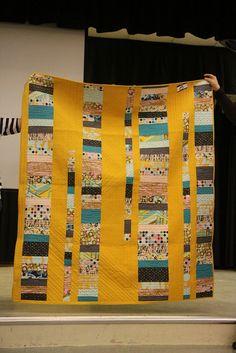 Habitat Challenge, Kansas City Modern Quilt Guild by Kansas City Modern Quilt Guild, via Flickr
