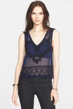 Run With It Embellished Tank by Free People on @nordstrom_rack