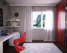 10 contoh desain kantor di rumah.