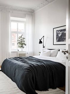 A Beautiful Wall Covering Book Shelf White Bedroom Black