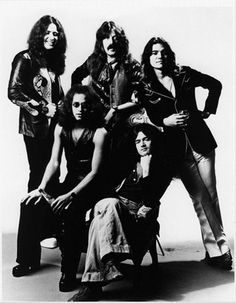 Deep Purple are an English rock band formed in Hertford in 1968. They are considered to be among the pioneers of heavy metal and modern hard rock, although their musical approach changed over the years. Originally formed as a progressive rock band, the band shifted its sound to hard rock in 1970, and in 1973 began exploring progressive metal.