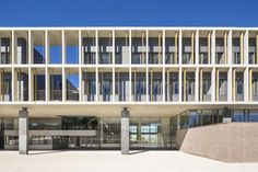 Gallery of High School in Noisy-le-Grand / Ateliers 2/3/4/ - 1