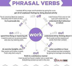 Phrasal verbs with WORK