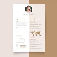 Vecteur Premium | Modèle De Cv De Couleur Féminine Curriculum Vitae Online, Cv Curriculum, Creative Curriculum, Modern Cv Template, Cv Resume Template, Resume Design Template, Free Cv Template, Creative Cv Template, Resume Cv