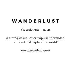 Travel quote #15 Travel Quotes, Budapest, Wanderlust, Math Equations, Explore, Instagram, Exploring