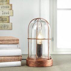 Tolle Tischlampe im Nostalgie-Design - ein Hit für Ihr Zuhause