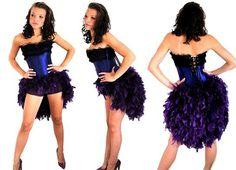 DIY burlesque bustle skirt!