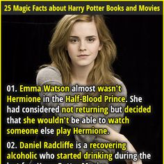 "Why is Daniel Radcliffe being and alcoholic a ""magical"" fact???"
