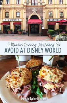 Is it your first time visiting Disney World? Learn the top 15 rookie dining mistakes to avoid at Disney World so you have the most magical vacation ever! Disney World Food, Disney World Planning, Walt Disney World Vacations, Disney Travel, Best Disney World Restaurants, Family Vacations, Disney Worlds, Disney Vacation Planning, Disney Cruise