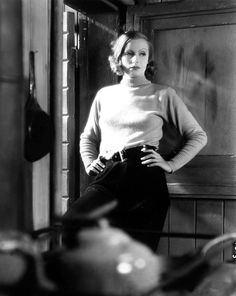 "Greta Garbo in ""Anna Christie"""