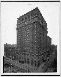 La Salle Hotel Chicago Il 1910 1920