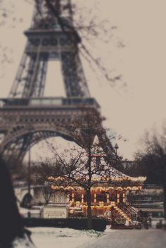 Go up the Eiffel Tower in France!