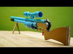 The Ultimate PVC Air Gun Sniper - Powerful Air Gun Sniper - DIY - YouTube