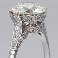 Antique Engagment Ring by julie.m ****Love the details!!