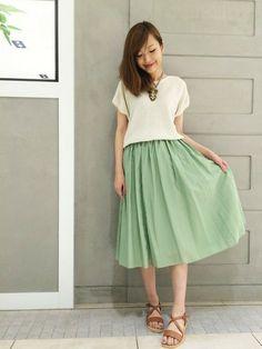 ROSSOグランツリー武蔵小杉店|kawanoさんのTシャツ/カットソー「ROSSO 片畦プルオーバー」(ROSSO|ロッソ)を使ったコーディネートです。