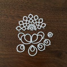 Lotus flower / 蓮の花 - tatting lace, Marmelo