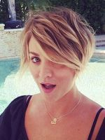 Kaley Cuoco Shows Off Yet Another New Haircut #refinery29