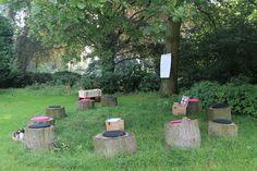 Vanaf 2014 is het mogelijk om op twee plekken op het landgoed buiten te vergaderen.