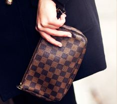 Louis Vuitton Pochette Accessoires NM Damier Ebene