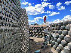 Earthship foundation