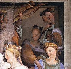 Domenico Beccafumi, Mariage de la Vierge, Sienne, Oratorio San Bernardino