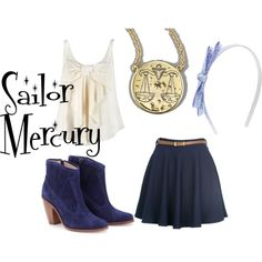 Sailor Mercury, created by jsglick on Polyvore