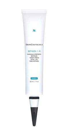 SkinCeuticals Retinol 1.0 Maximum Strength Refining Night Cream knocks out your most stubborn skin issues without causing irritations.