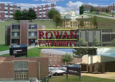 Rowan University, formerly Glassboro, until Rowan died and left them a small fortune if they changed the name... (RM)