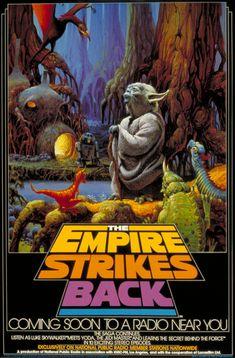 Empire Strikes Back radio poster
